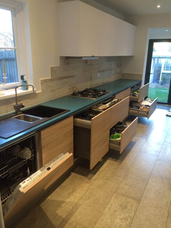 Handleless Matt German Kitchen Bounds Green Blax