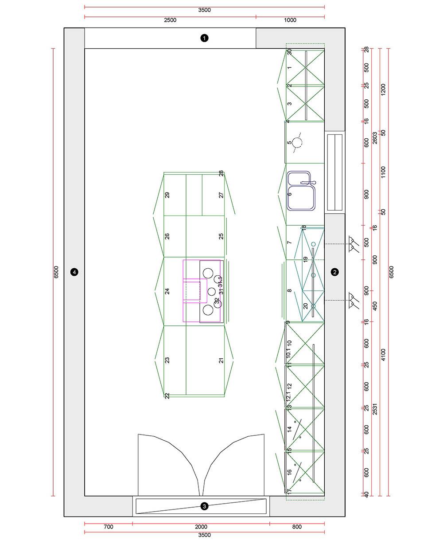 100+ [ 2d Kitchen Design ]   Glamorous 50 Room Designer
