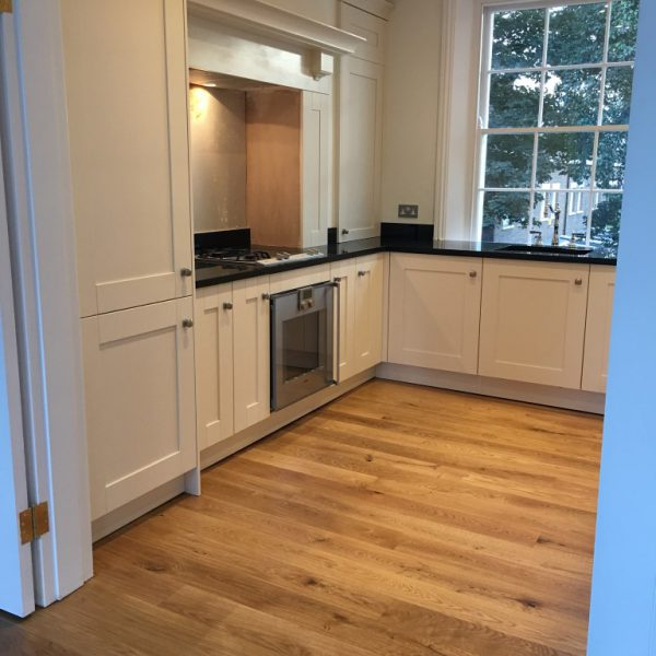 Pre Built Curved Kitchen Island