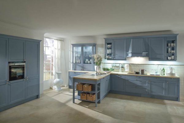 M_Bristol_Achatblau traditional country style kitchen