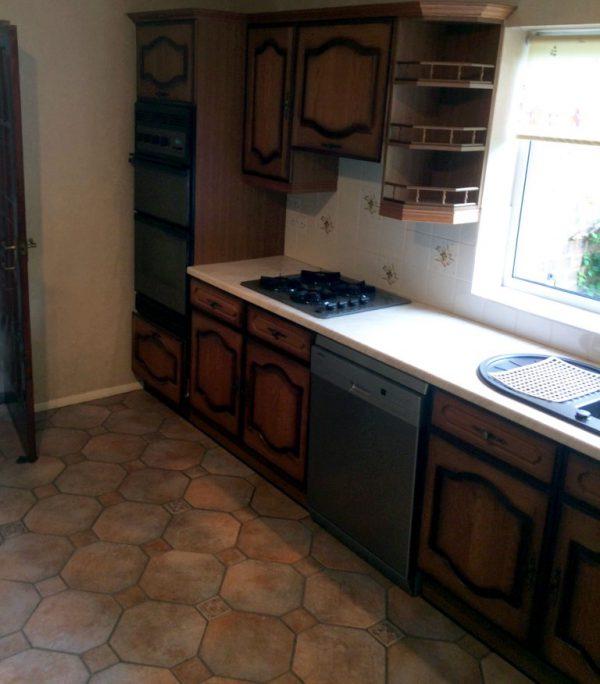 high gloss handleless kitchen hoddesdon