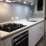 handleless high gloss kitchen winchmore hill