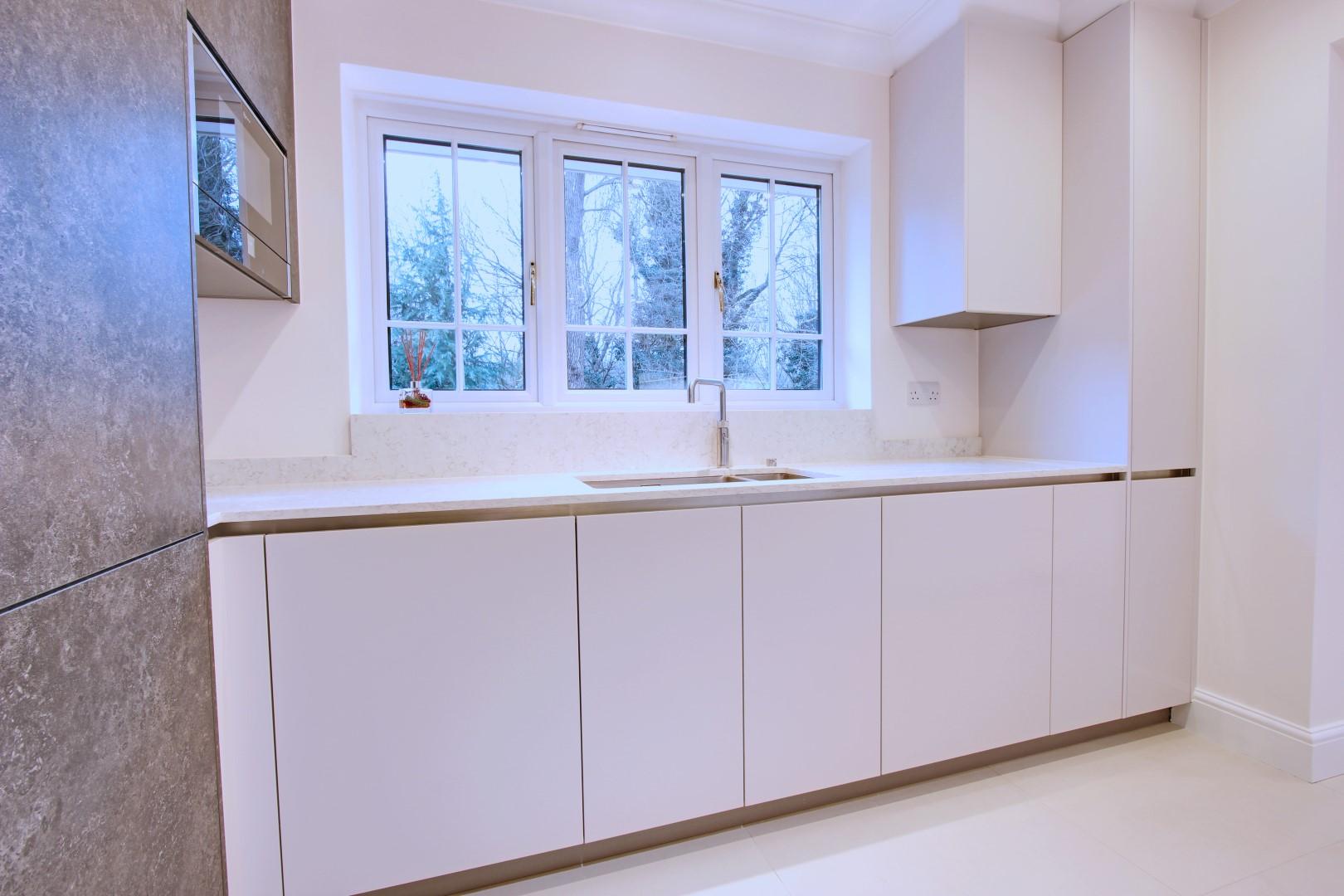 Matt Taupe & Slate - Northwood HA6   Blax Kitchens Ltd