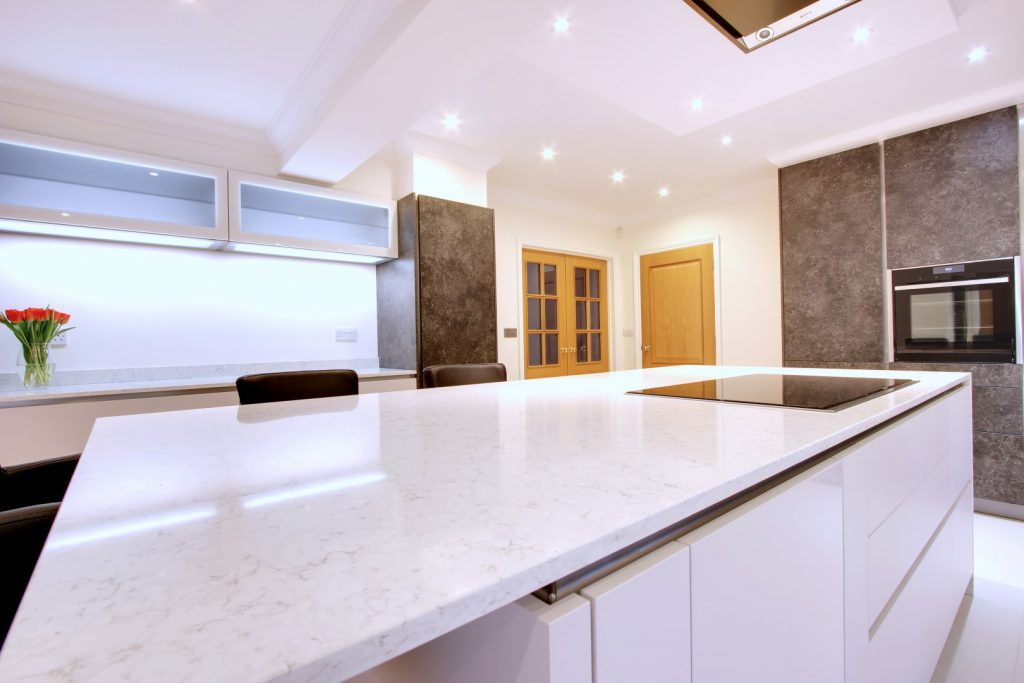 hacker handleless and high gloss kitchen by Blax Kitchens, Northwood HA6