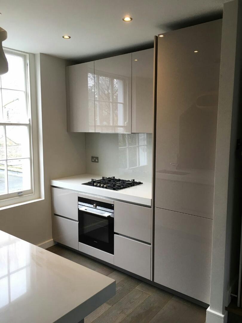 Gloss Cashmere Islington Blax Kitchens Ltd