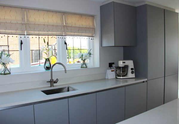 Pearl Grey Wadesmill Blax Kitchens Ltd